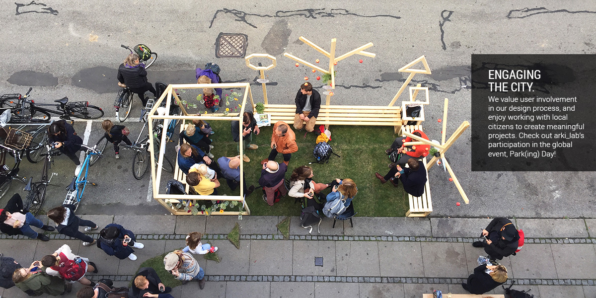 Engaging the City: Park(ing) Day