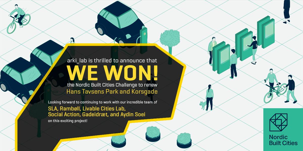 Nordic Built Cities Challenge: We Won!