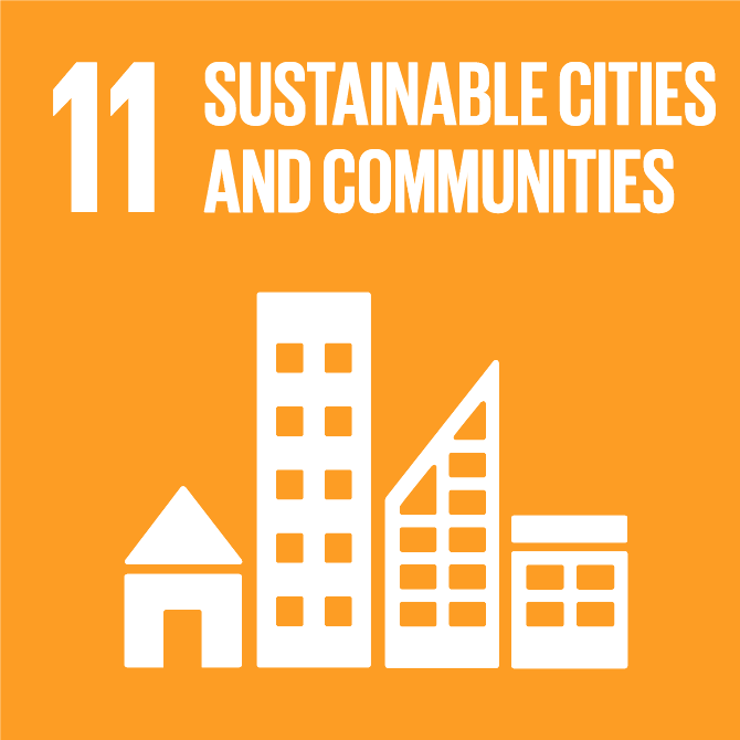 global goals sustainable cities and communities FNs verdensmål bæredygtige byer og lokalsamfund