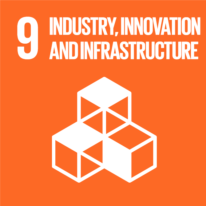 global goals industry innovation and infrastructure FNs verdensmål industri innovation og infrastruktur