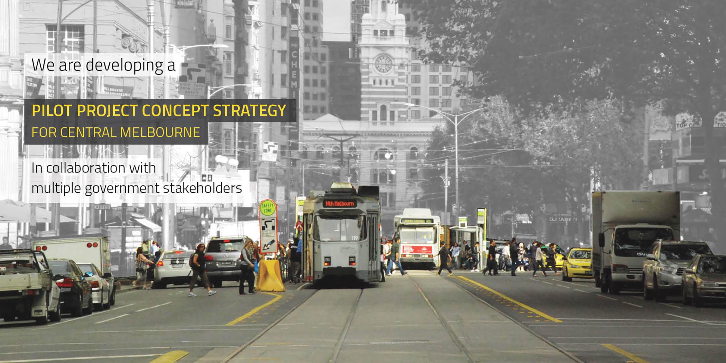 NEWS pilot project concept strategy Melbourne