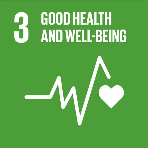 Global Goals Good Health and well-being FNs 17 verdensmål sundhed og trivsel